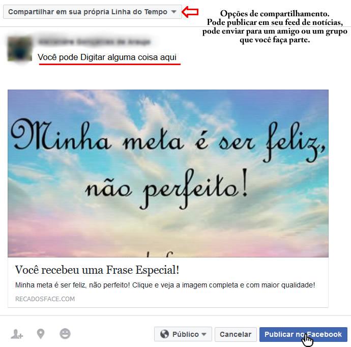 Mensagens Para Facebook Saiba Como Enviar Mensagens