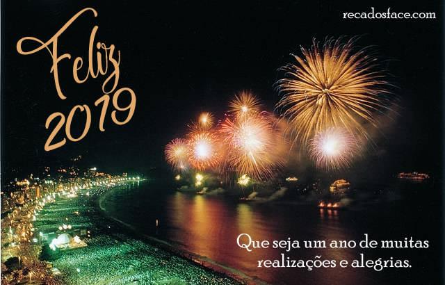 Mensagens e imagens de Feliz 2019