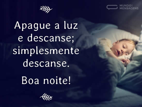 boa noite