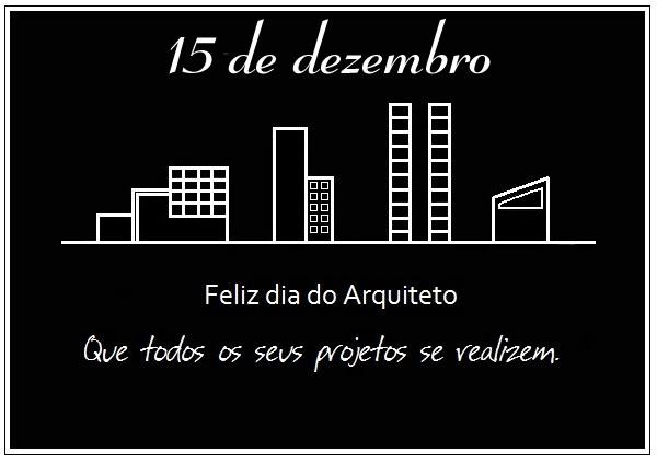 Dia do Arquiteto - Imagens para facebook