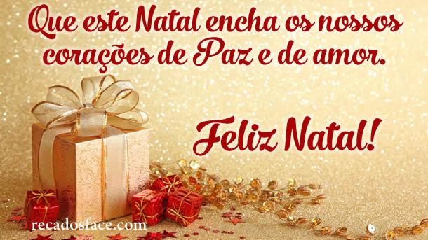 Feliz Natal, Paz e Amor