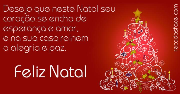 Mensagem de Feliz Natal 001